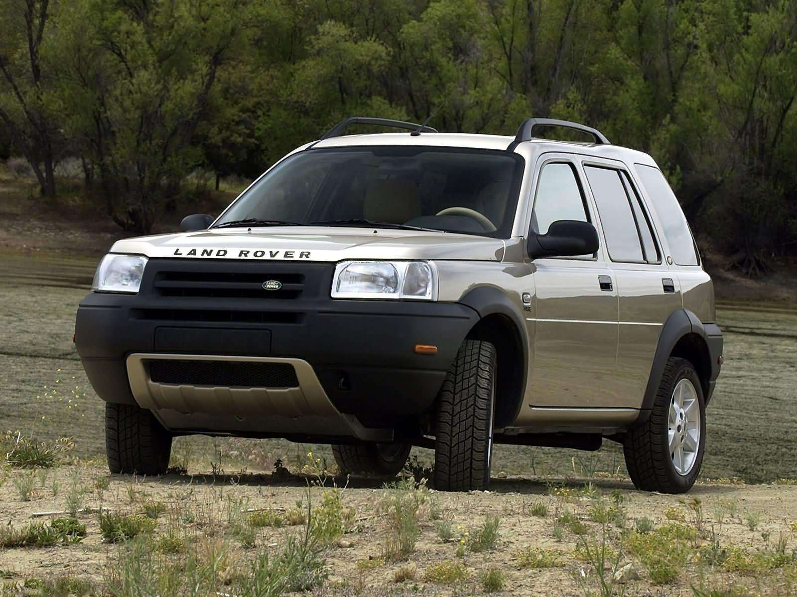 2003 land rover freelander front view