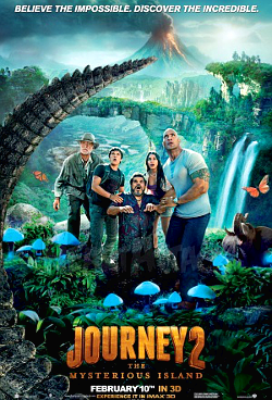 Filme Poster Viagem 2: A Ilha Misteriosa DVDRip XviD & RMVB Legendado