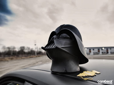 Darth Vader Subaru WRX STi