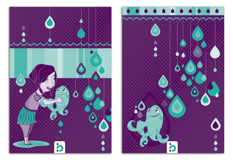 Diseños para la linea infantil de www.belpapel.com