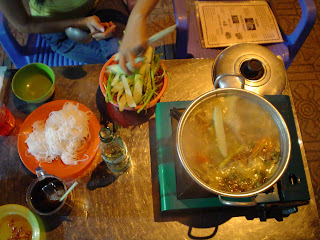 Hot pot or estafodo Asia. Vietnam