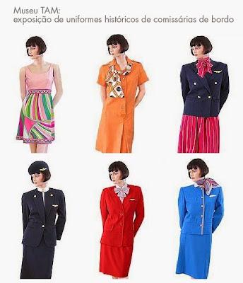 comissárias de bordo moda estilo