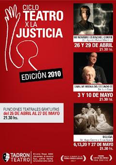 Ciclo Teatro por la Justicia
