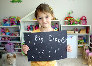 Tessa's Big Dipper!