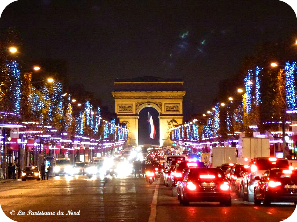Decoration De Noel Aux Champs Elysees