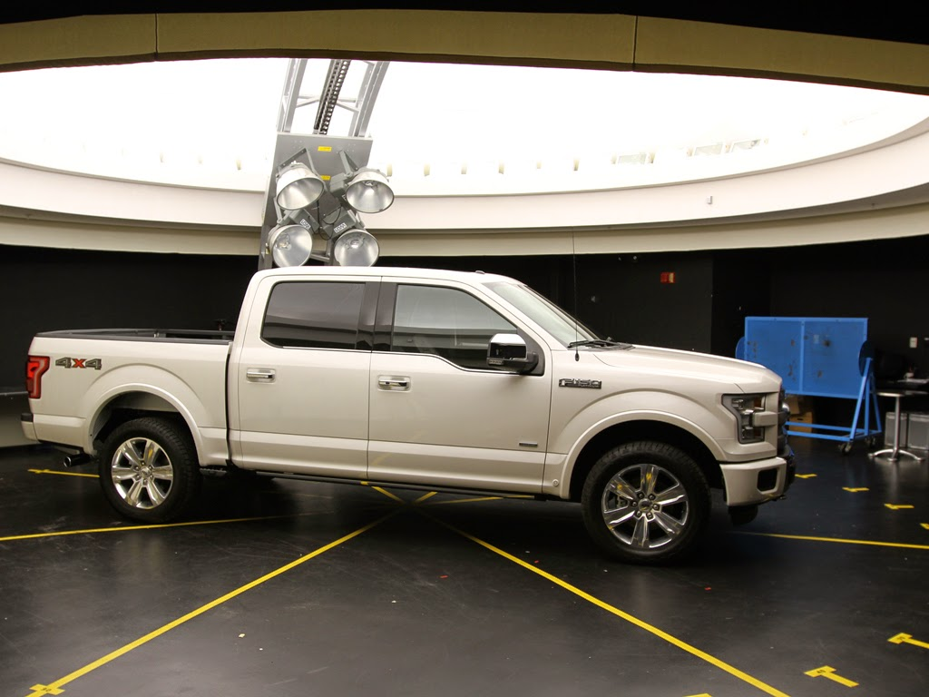 Ford F-150 Protected From The Sun's Effects: Fading, Damage, Glare
