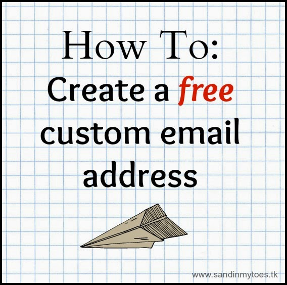 How to create a free custom email address