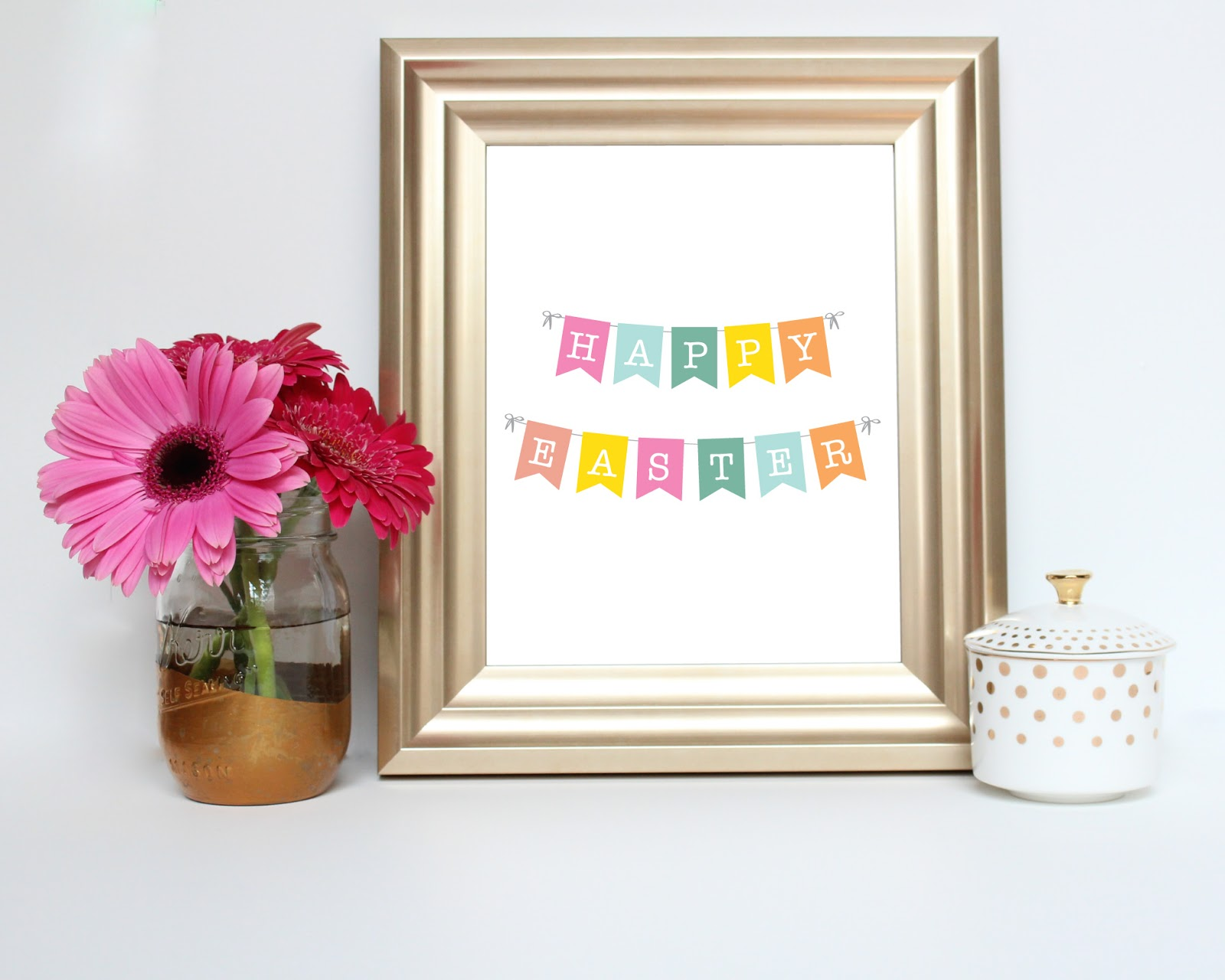 Happy Easter Printable by JM Print Shop