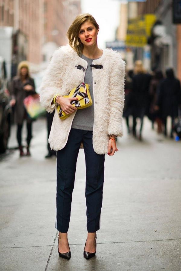 Trend Alert Faux Fur Efecto Pelo Front Row