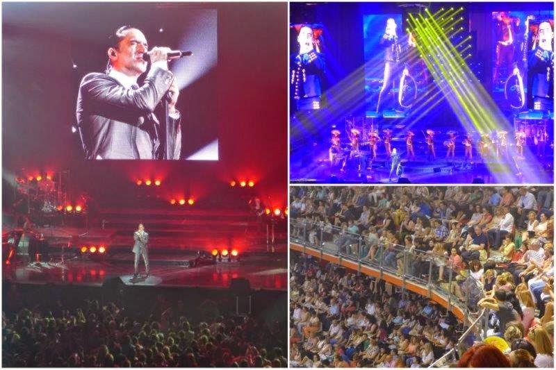 Concierto de Alejandro Fernandez el 16 de julio de 2014 en Gijon