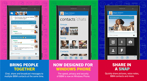 Download BBM for Windows Phone Final