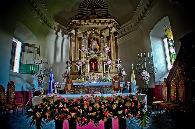 Interior de la Iglesia de Metapán
