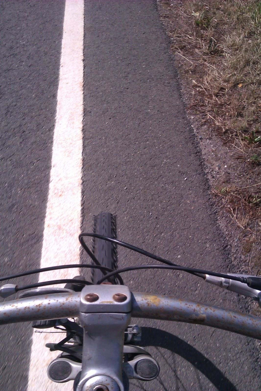 Rost lenker altes Fahrrad