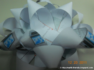 Paper ribbon 3rd Layer