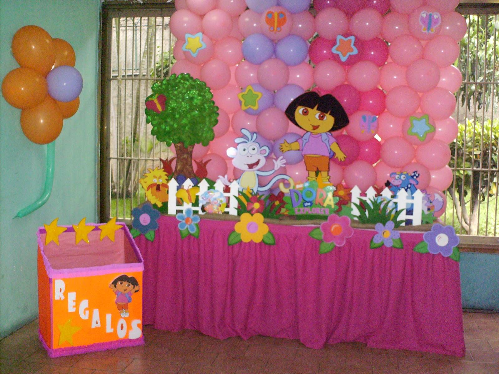 Decoracion Para Fiestas De Dora