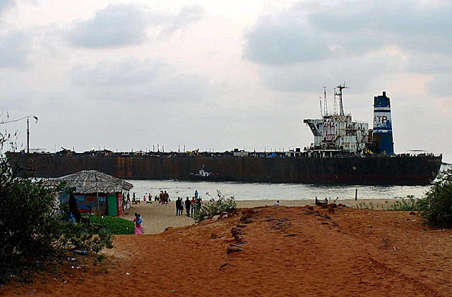 abandoned goa ship