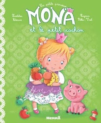 Mona et le petit cochon
