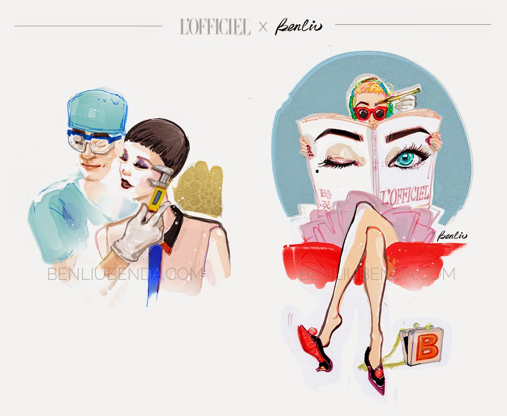 BENDA (Ben Liu) × 时装L'OFFICIEL China - Plastic Surgery
