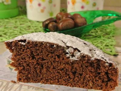 torta di castagne soffice e profumata