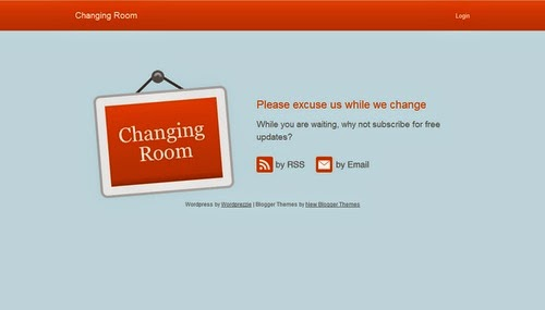 Changing Room - Free Blogger Template