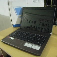 jual laptop beaks acer aspire 4253
