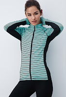 Style Athletics Forever 21 Cute Stylish Workout Clothes Unique Lululemon stripe jacket