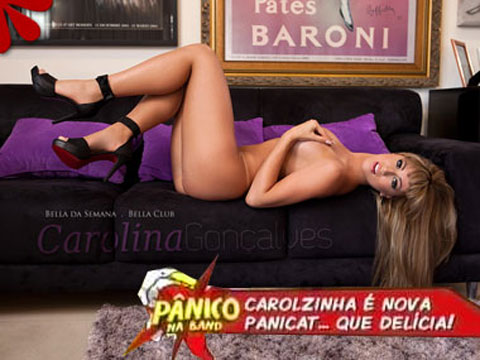 Carol Narizinho Nova Panicat<br />