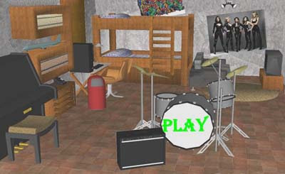 Music Sound Room Escape