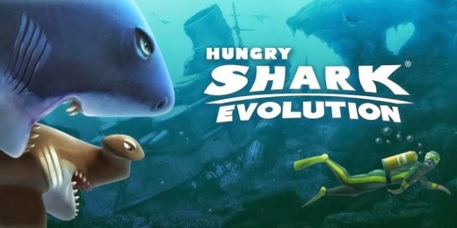 Hungry Shark Evolution v2.1.1 Para Hileli APK İndir