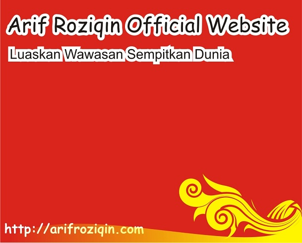 Arif Roziqin Official Website