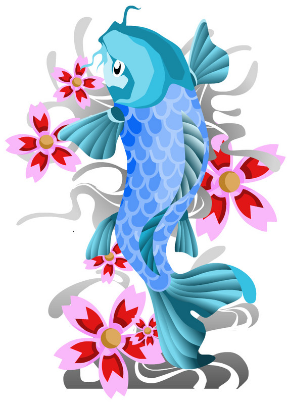 Zodiac tattoo designs there is only here koi fish tattoos for Beautiful koi fish
