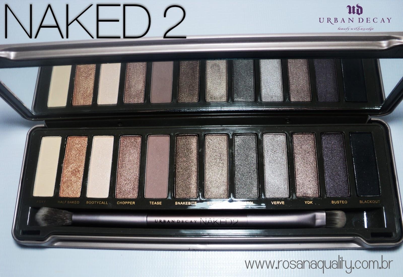 Paleta Naked 2 Réplica