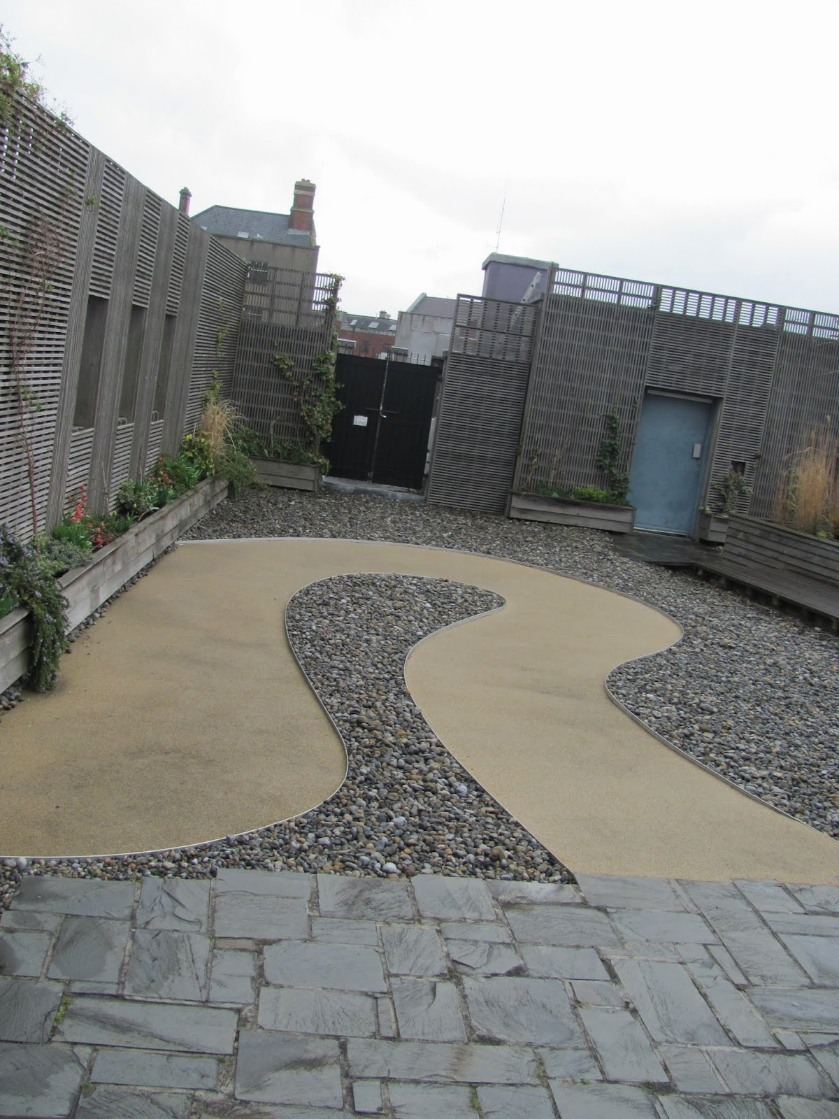 Chester Beatty Roof Garden Dublin Castle Dublin