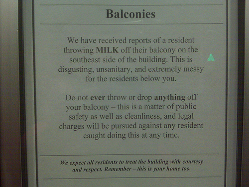 Simply me new ish funny blog discoveries for Balcony dictionary
