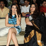 Hansika Motwani Showcasing Her Milky White Legs At Telugu Film 'Something Something' Audio Launch