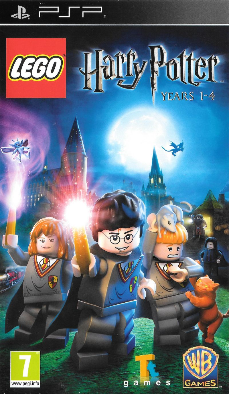 [PSP] LEGO Harry Potter: Years 1-4  download