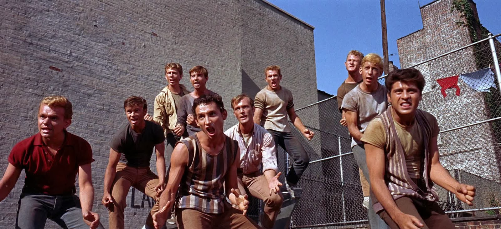 an analysis of west side story by jerome robbins West side story (1961) the first order of business in bringing west side story to the screen was casting this was left largely to robert wise, who had been chosen as co-director primarily for his work with film actors (stage choreographer-director jerome robbins would handle the musical sequences.