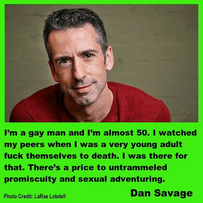 Sex columnist Dan Savage