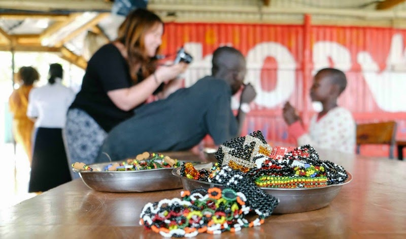 Team Honk Penny and handmade african jewellery comic relief