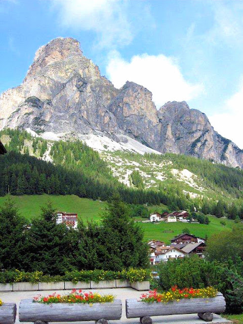 Our final stop on our tour through the Italian Dolomites is Corvara with its stunning views of Alta Badia, the Marmolada glacier and even the Austrian Alps.