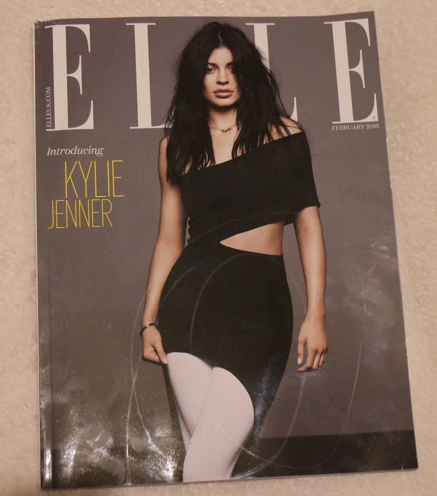 Next Generation // Kylie Jenner ELLE's February 2016 Cover Star