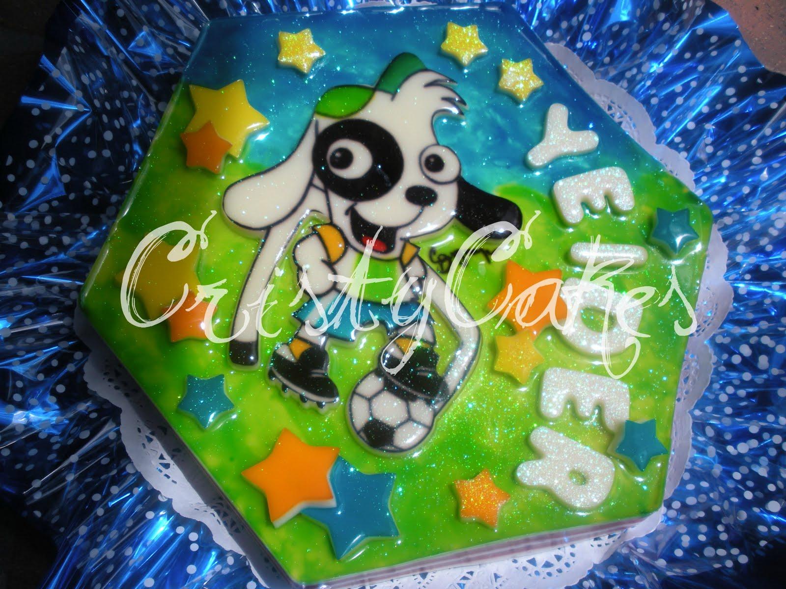 Cristy's Cakes: Doki Futbolista
