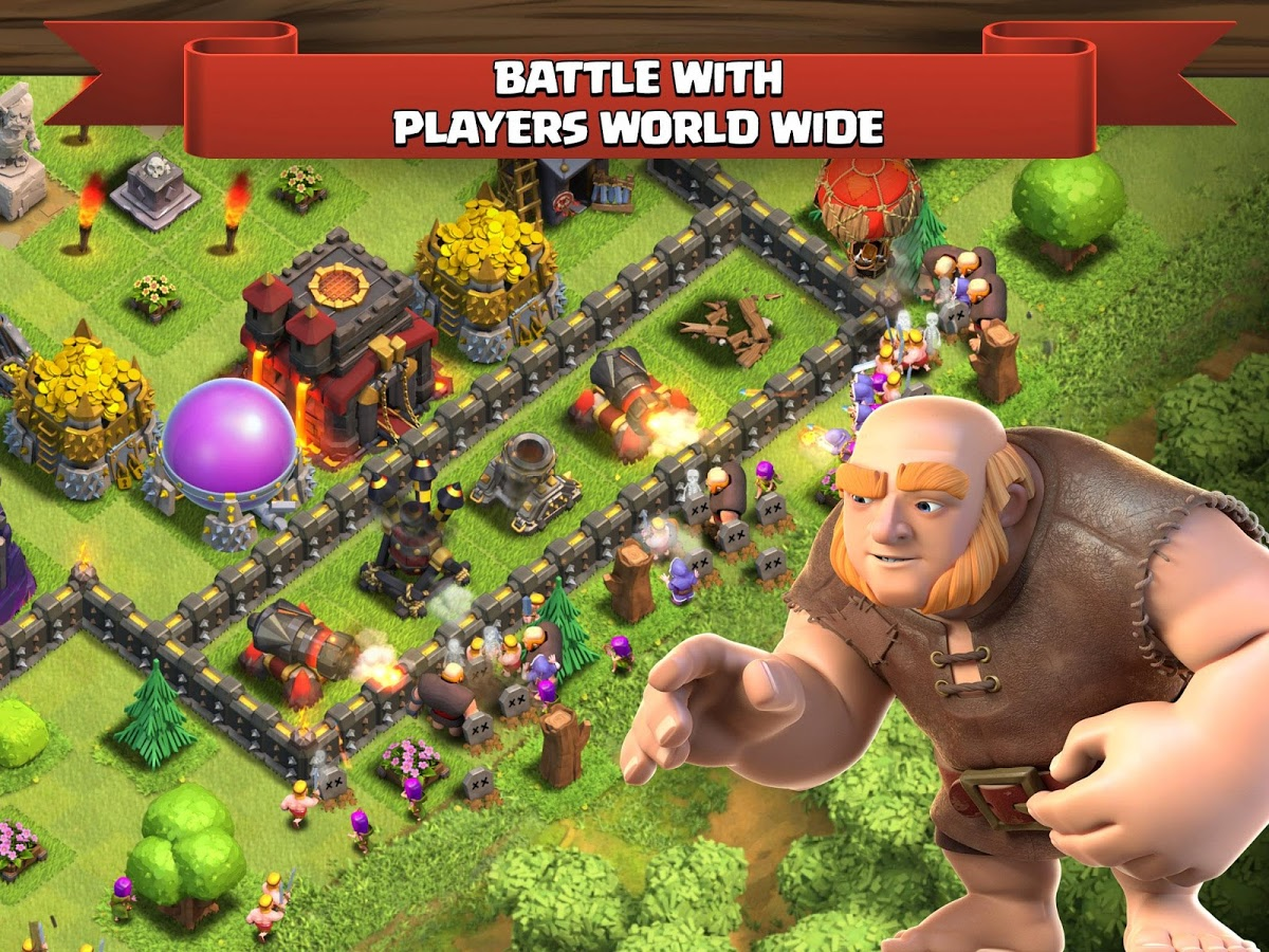 Clash Clans APK OfficialMod Server v.. Unlimited gems