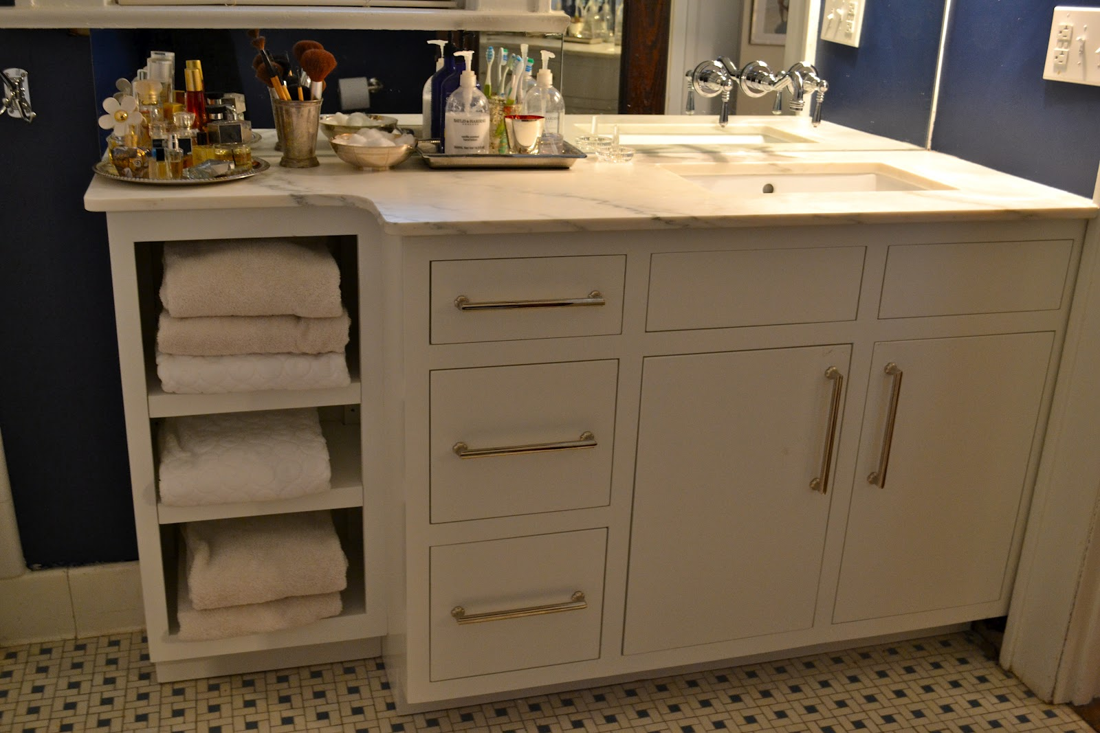 before after bathroom vanity - Bathroom Cabinets Before And After