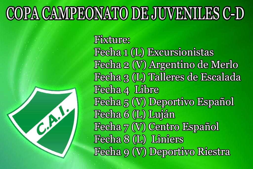 Fixture Copa Campeonato
