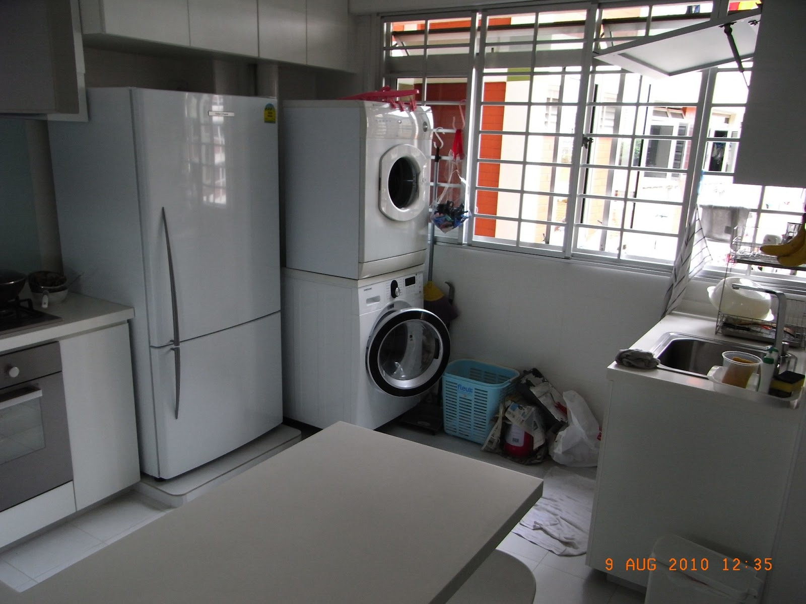 our hdb flat renovation in 2009 kitchen design concepts and specifics