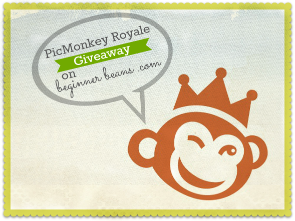picmonkey royale giveaway