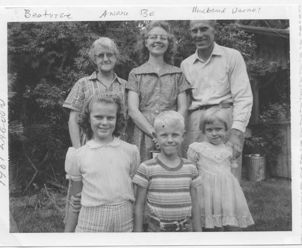 1961 Reunion Lagoon, Amasa's family