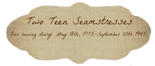 Two Teen Seamstresses