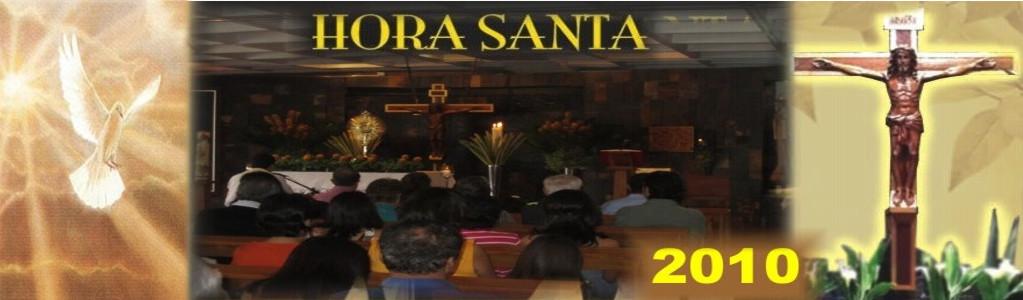 Horas Santas Año 2010